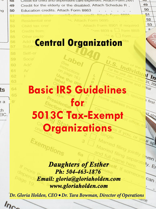 BASIC GUIDELINES IRS BOOKLET