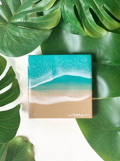 Teeny Tiny Ocean Painting