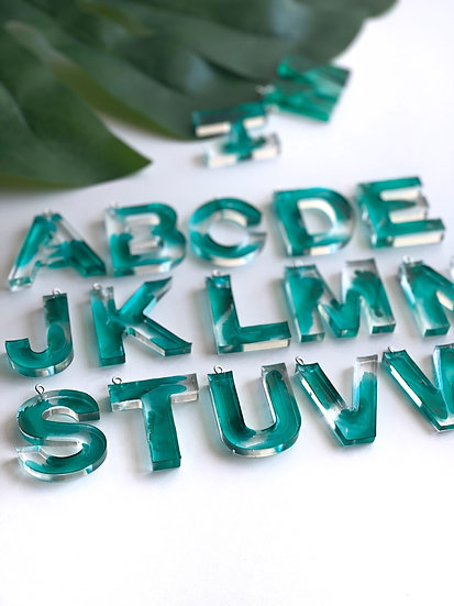 Letter Key Chain