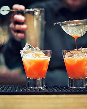 Preparación Cocktail