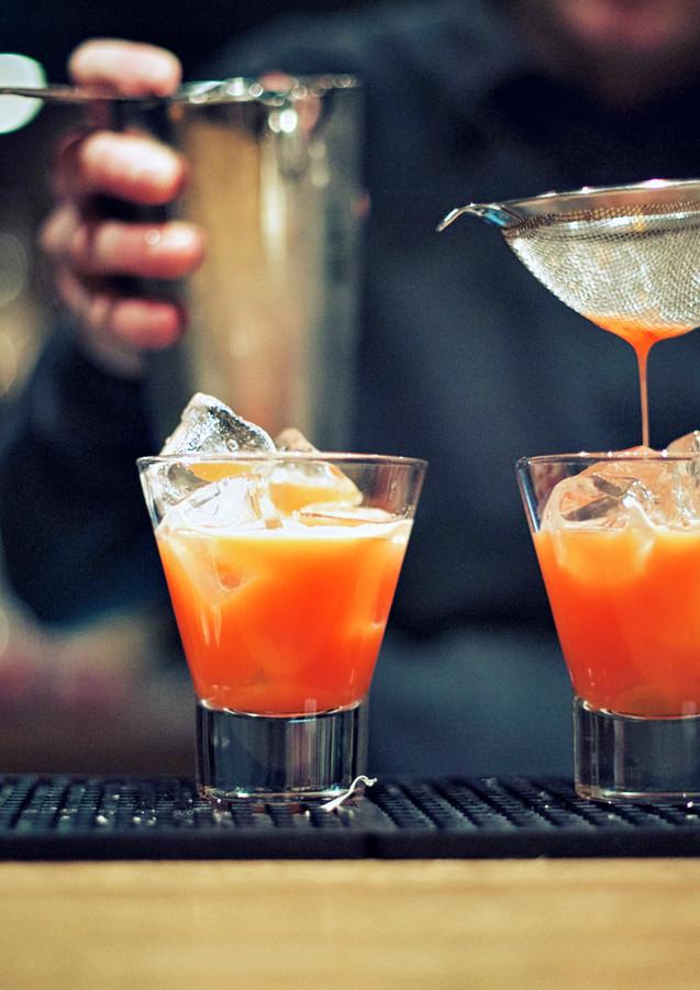 Preparação cocktail
