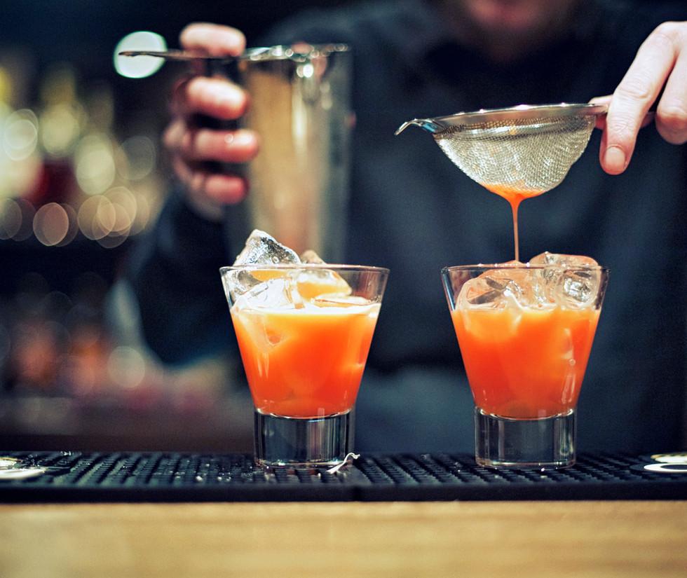 Cocktail Vorbereitung