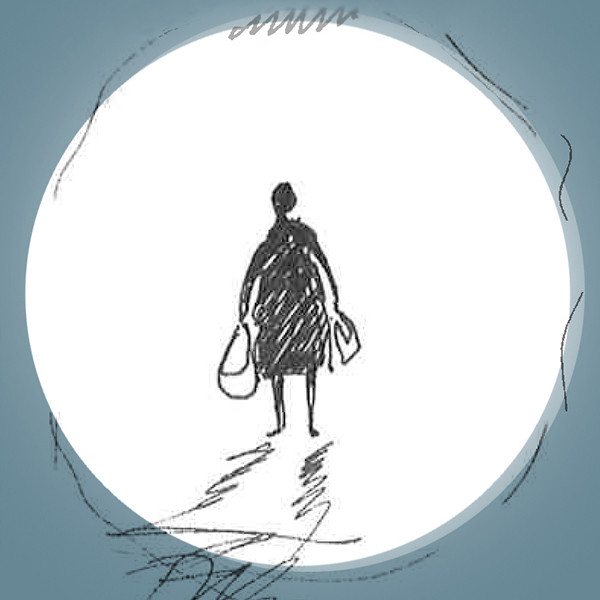Su Koh's first sketch of Lydia Japhethson, the protagonist of the novel I Am Not Gog.