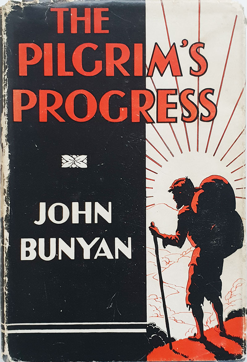 My copy of The Pilgrim's Progress, by John Bunyan. Photograph by Matthew James Hunt.