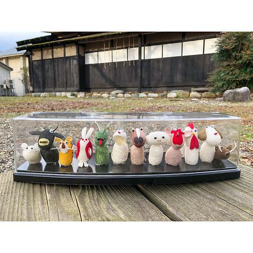 十二支の干支人形