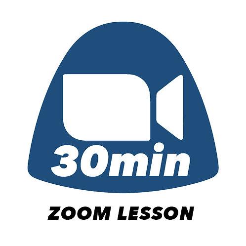 30min Zoom Lesson