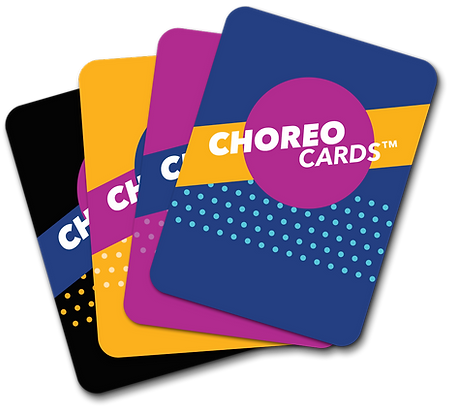 Choreo Cards - Choreography Card Game