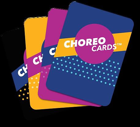 Choreo Cards - Choreography Card Game