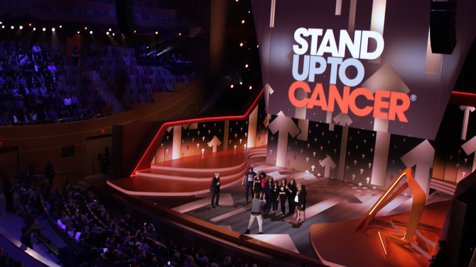 BC Live Productions Stands Up To Cancer
