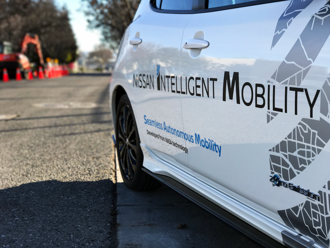 Meet SAM - NASA And Nissan's New Autonomous Vehicle