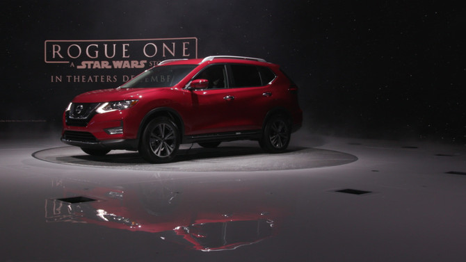 Nissan Joins The Rebellion With The Rogue One SUV!