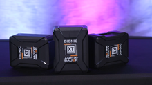 The New Anton/Bauer Dionic XT Batteries