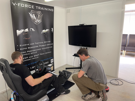 A great couple of days helping V-Force with VR