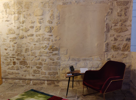 La pièce sophro pour vous accueillir en séances individuelles & en duo.