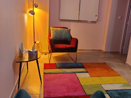 Nouveau décor au cabinet de sophrologie et d'hypnose de Lunel-Viel