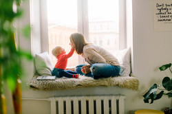 Woman enjoying time with child after estate planning