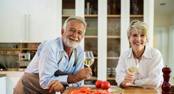 Couple meeting together after estate planning