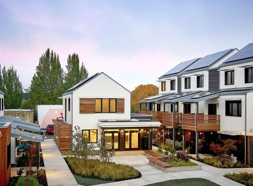 PORTLAND WELCOMES ITS FIRST ZERO-ENERGY COMMUNITY TILLAMOOK ROW