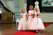 photo by katherine and her camera. Spiral Events fashion show, Olivia George the Perfect one flower girl dresses