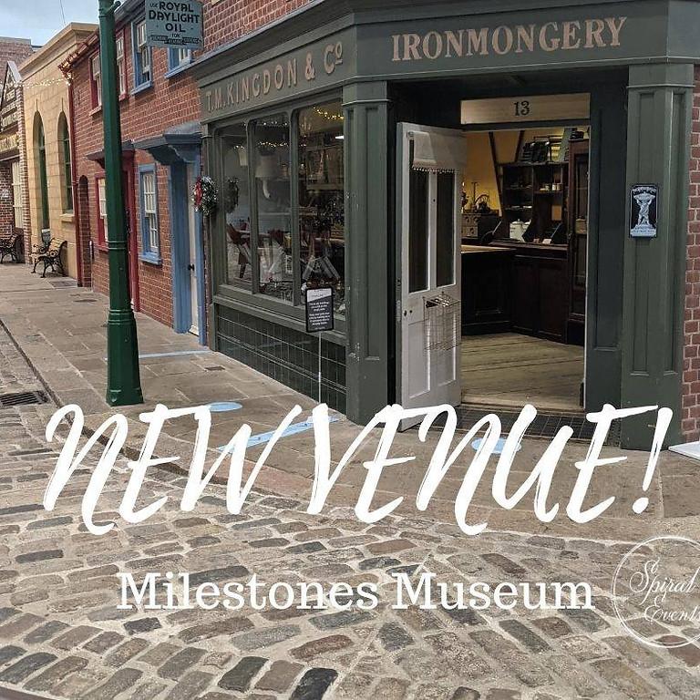 Milestones Museum wedding fayre 11-12pm