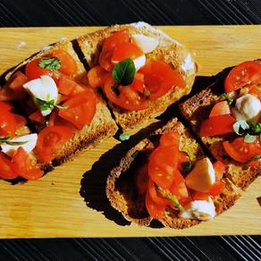 Das einfachste Brot der Welt... perfekt für Bruschetta