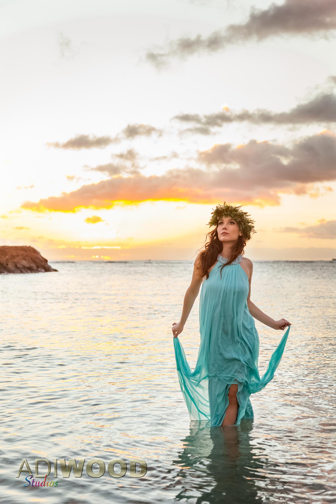 Kristina Anapau - Ala Moana Beach