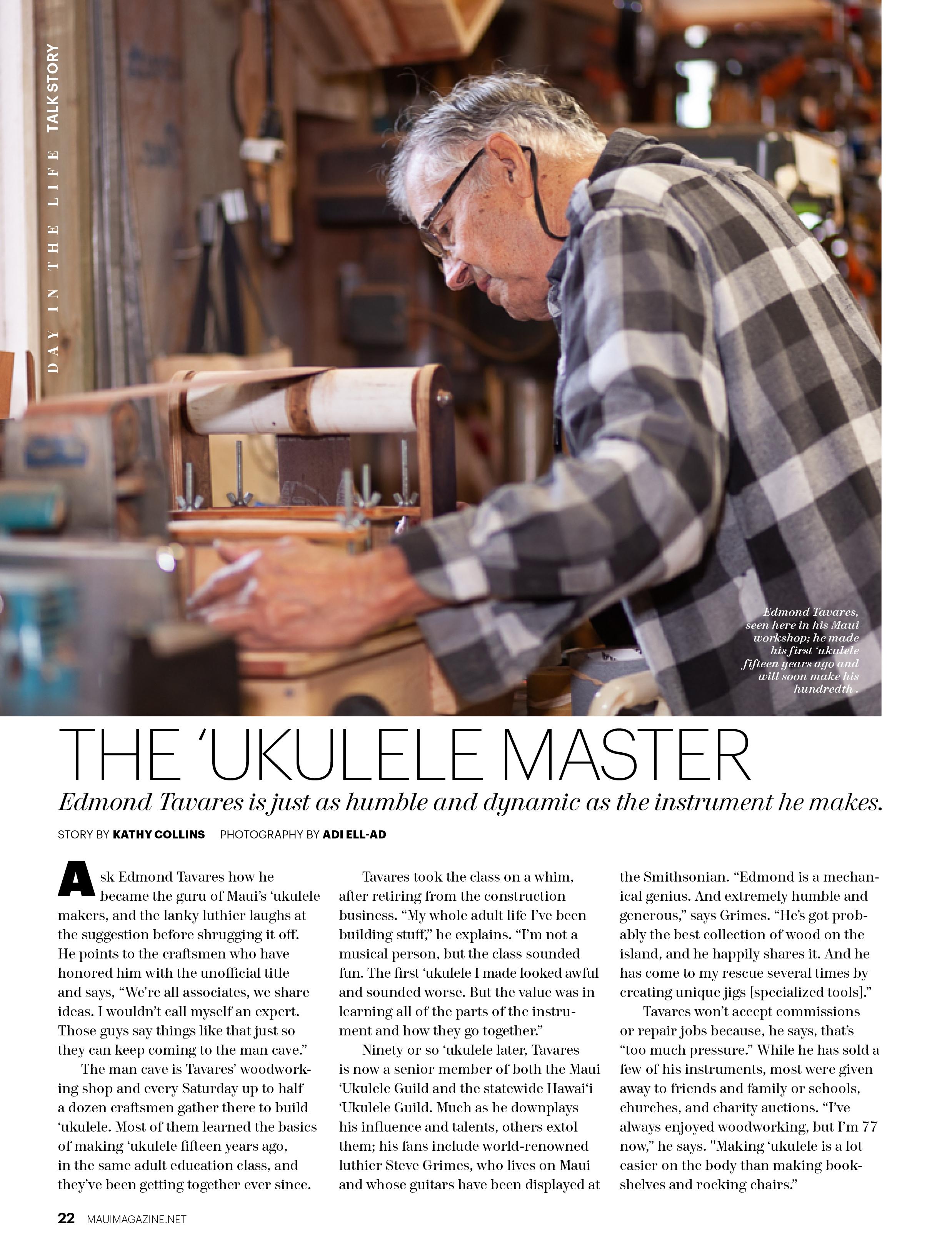Maui No Ka Oi Magazine