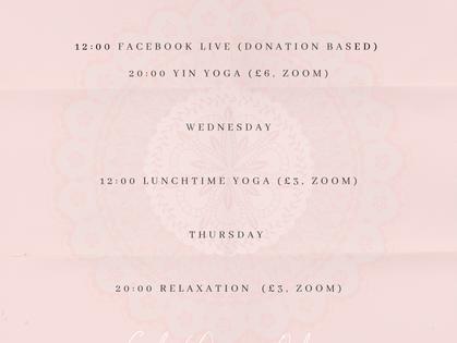 Goh Yoga Online