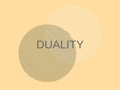 Balance and Duality