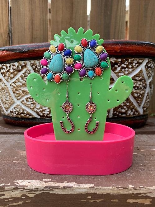 Cactus Earring Holder