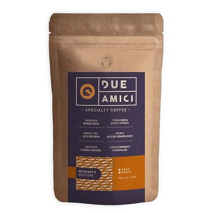 Café Due Amici - Moderato - 250g Grãos