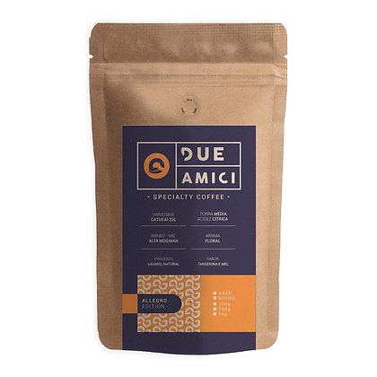 Café Due Amici - Allegro - 250g Grãos