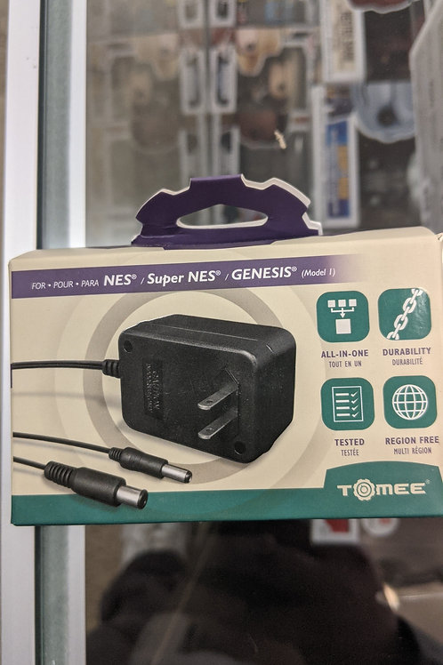 Tomee 3-in-1 AC Adapter for Classic Game Consoles