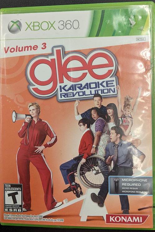 Karaoke Revolution: Glee - Volume 3