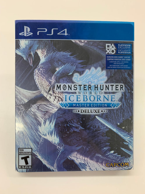 Monster Hunter World: Iceborne - Deluxe Steelbook Edition