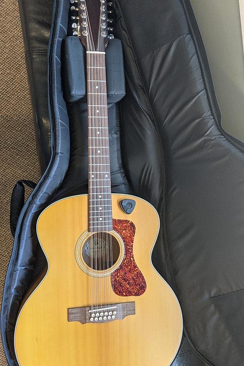 Guild F-2512E Maple, 12-String Acoustic-Electric Guitar