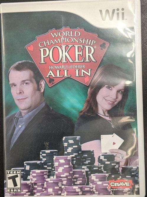 World Championship Poker: All In