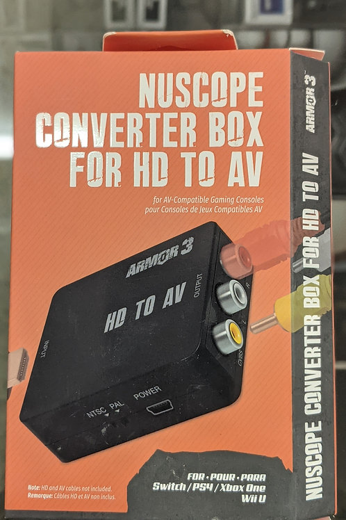 Armor3 Nuscope Converter Box for HD to AV