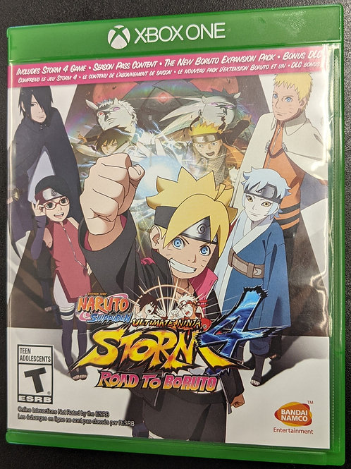 Naruto Shippuden: Ultimate Ninja Storm 4 + Road to Boruto