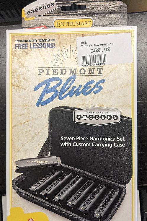 Hohner 7 Pack Harmonicas