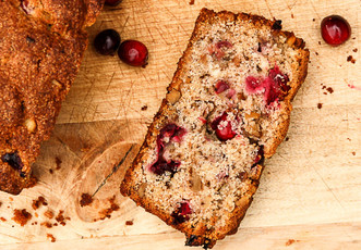 Cranberry Walnut Loaf