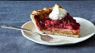 Gingered Cranberry Pear Pie