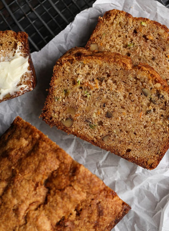 Autumn Walnut Bread