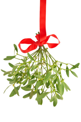 Kissing your feet with MistleToe Magic