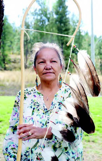 Roxanne Lindley, FIRST WOMAN CHIEF of Westbank First Nation
