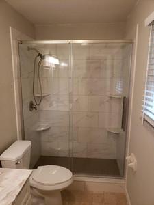 Single Sliding Shower Door