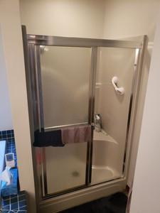 Old Framed Shower Door