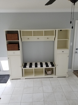 Bench and Storage Assembly