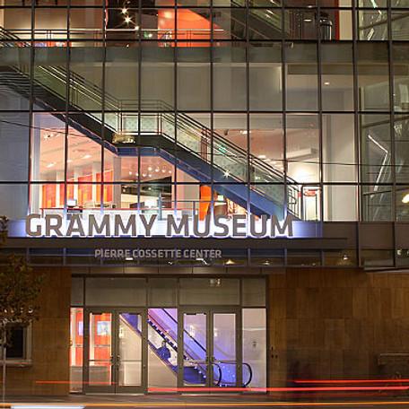 Grammy Museum Showcase