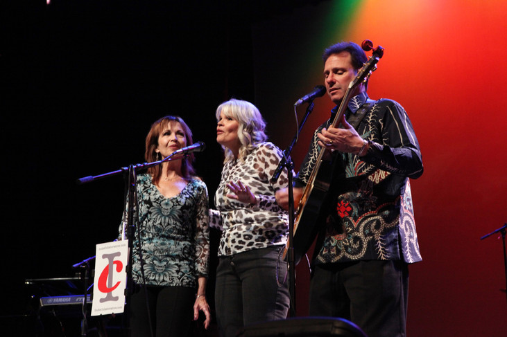 Bruce Lev and the Smith Sisters